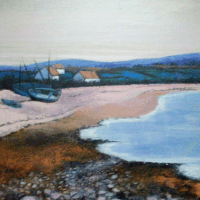 Rousseau-Grolee | Low Tide | Nolan-Rankin Galleries - Houston