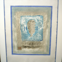 James Coignard Emobssed Lithograph