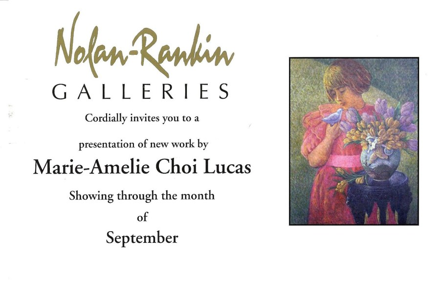 Marie-Amélie Choi | Nolan-Rankin Galleries | Houston, TX