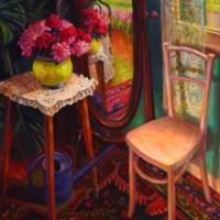 NR2894 La psychee 60 Figure: 51.187 x 38..187 inches William Michaut | Nolan-Rankin Galleries - Houston