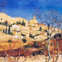 Saint Martin de Castillon | NR3687 | 50 Paysage: 45.75 x 31.75"