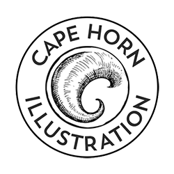 Cape Horn Illustration