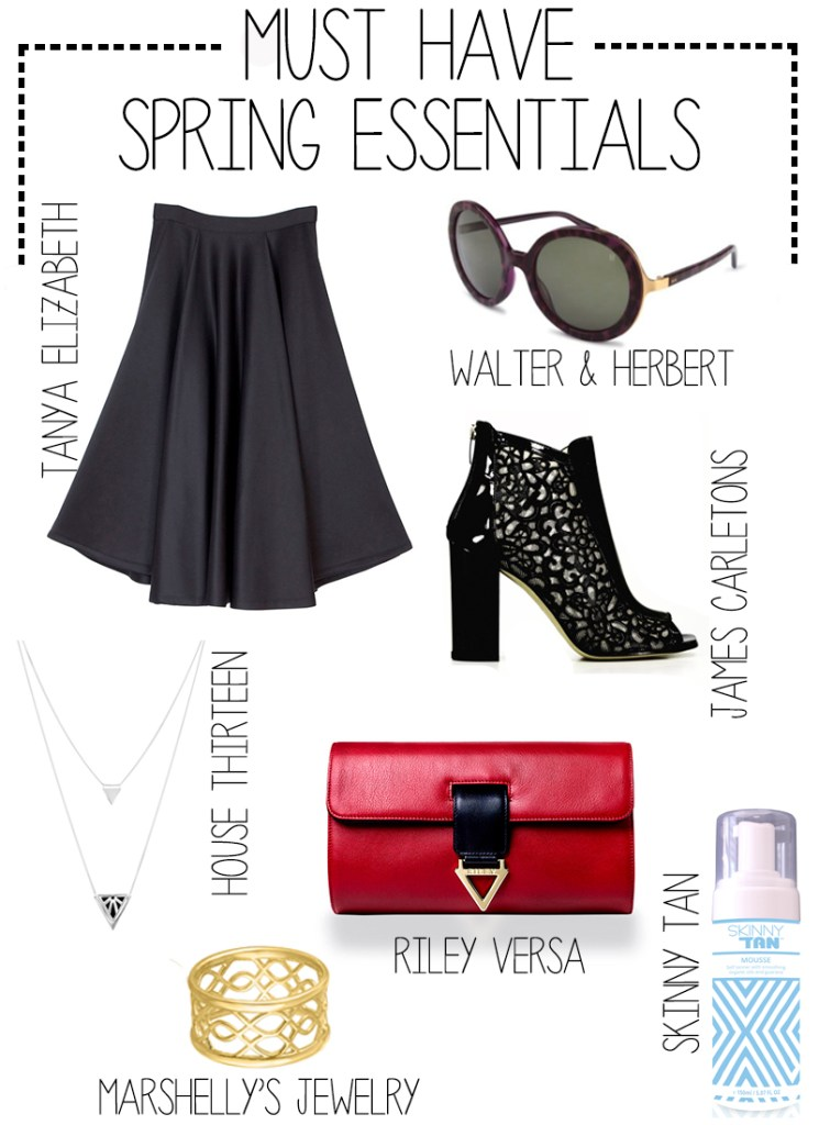 Monday Must Haves Spring guide