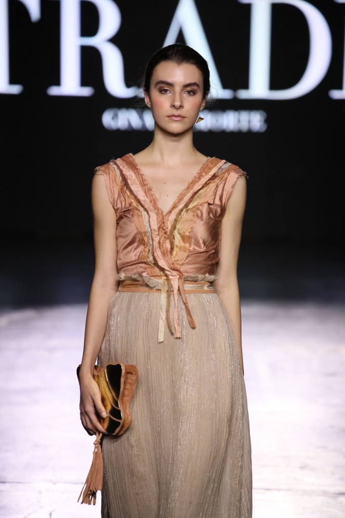 TRADE By Gina La Morte on the Nolcha Shows runway during New York Fashion Week