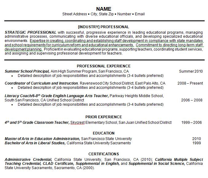 D Resume Samples Nolds Resumes Llc