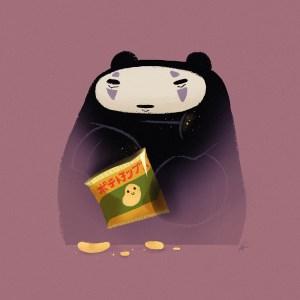 No Face Panda