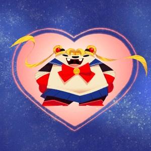 Sailor Moon Panda