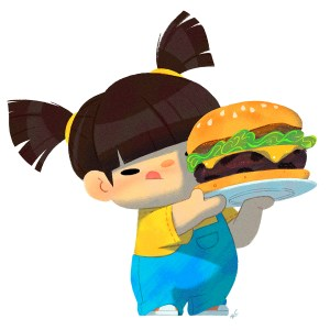Baby Us: Burger Girl