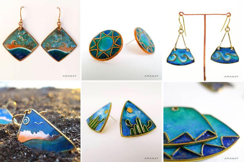Joyas Amanay inspiradas en el mar