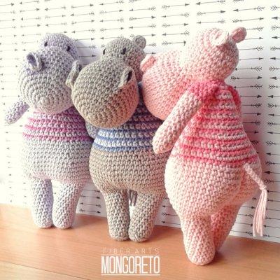 Bộ sưu tập amigurumi thú len móc của nhà thiết kế Mongoreto