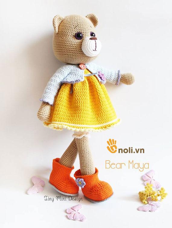 Bộ sưu tập búp bê amigurumi len móc của nhà thiết kế Tiny Mini Design (Phần 3)