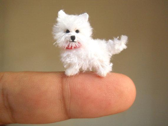 Bộ sưu tập những chú cún amigurumi siêu nhỏ xinh (Phần 2)