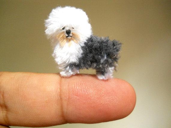 Bộ sưu tập những chú cún amigurumi siêu nhỏ xinh (Phần 3)