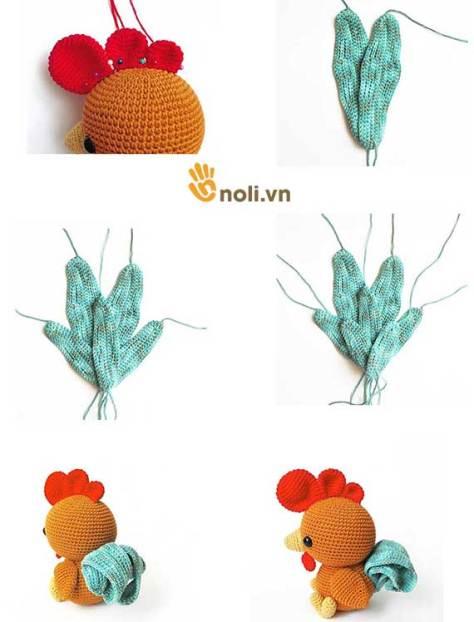 Chart móc chú gà Gallinita