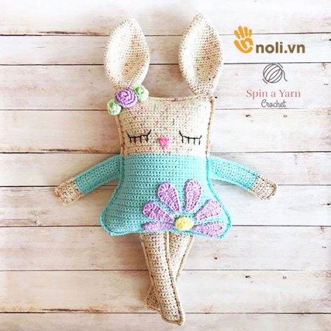 Xiêu lòng trước mẫu móc thỏ Ragdoll mùa xuân xinh đẹp