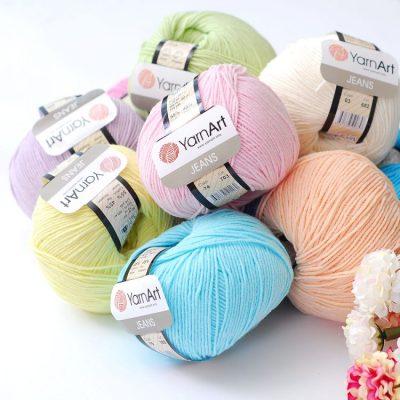 Bảng màu len Jeans nhập khẩu Thổ Nhĩ Kỳ - NoLi Handmade Shop