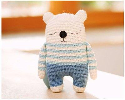 Hướng dẫn móc gấu ngủ Mimo