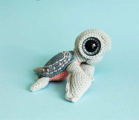 Hướng dẫn móc chú rùa biển nhỏ xinh