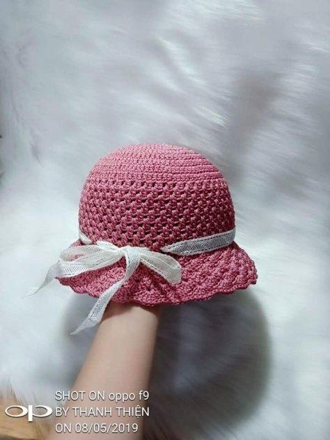 Hướng dẫn móc mũ cho bé của tác giả Thanh Thiện