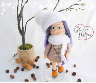 Học cách móc búp bê Havva - Cô bé mùa đông