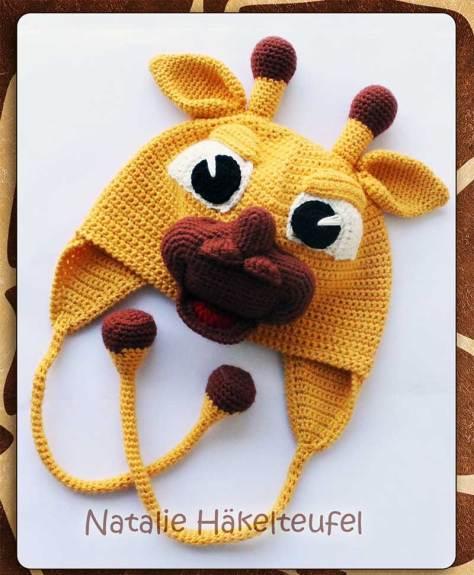 Hướng dẫn móc mẫu mũ hươu cho bé