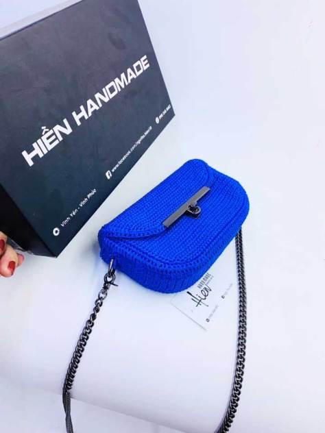 Hướng dẫn nhanh mẫu túi đeo chéo size 18cm của tác giả Ngô Thu Hiền