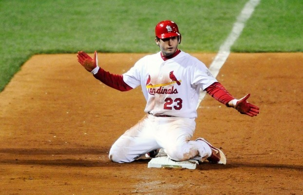 Freese was able to show how clutch he was with a game-tying triple.