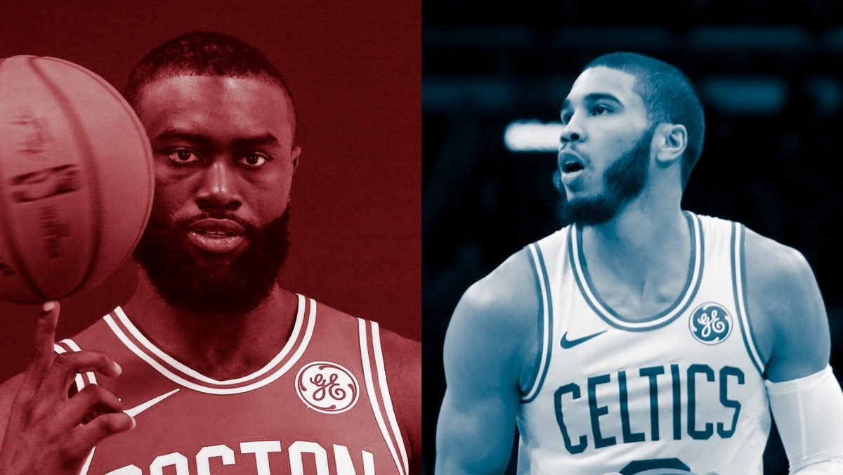 Fire and Ice: Jaylen Brown and Jayson Tatum