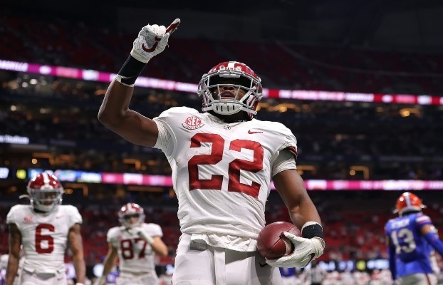Najee Harris could be apart of one of the Bills' NFL draft trades.