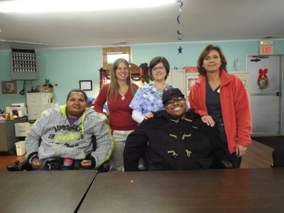 We would like to thank all of the staff from Intrepid Home Health Care Services very much for donating delicious soup and cookies in memory of Devin Moore.  Yummy!  Coni Chandler from Intrepid also stopped by and delivered cinnamon buns!
