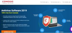 comodo 300x140 - Best Free Antivirus Programs for Windows 10/7/8
