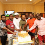 Photos from E-Money's surprise birthday house party