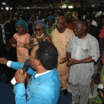 Photos from Pastor Iginla's birthday for Nollywood stars where he gave out 32 cars