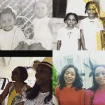 Former Nollywood actress Ego Boyo shares childhood photos as she celebrates her sister's 50th birthday