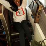 Tiwa Savage Arrives London With So Much Excitement