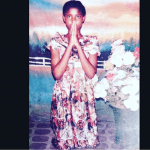 """I am still that church girl that is playful and loves Singing"" Angela Okorie says as she shares her throwback photo"