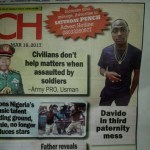 Davido threatens to sue Punch for running a report that he's a father to a 4year old child