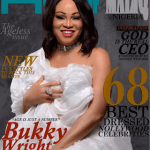 Bukky Wright stuns on the cover of House of Maliq March edition