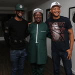 Photos from King Sunny Ade's visit to Fashola, Fayemi and Lai Mohammed