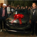 Floyd Mayweather buys son a new Mercedes-Benz Car for 16th birthday(Photos)