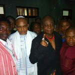"""For Biafra"" Charley boy says as he meets Nnamdi Kanu in court"