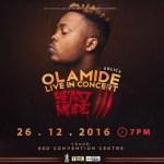 Olamide announces #OLIC3, promises to Shut Down Lagos Again