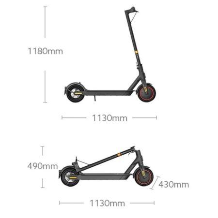Dimensiones Xiaomi Scooter