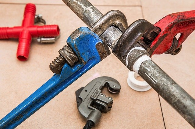 These are plumbing tools to represent fixing the plumbing as an analogy for fixing spiritual problems.