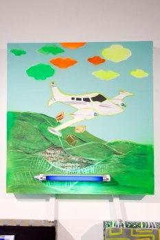 Lindo avión / Llueve del avión
