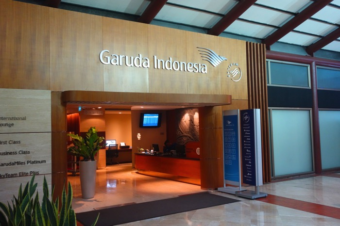 ガルーダ・インドネシア航空 ラウンジ