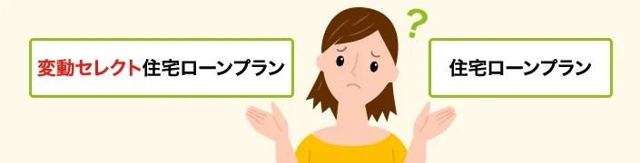 ソニー銀行 変動セレクトと住宅ローンプラン