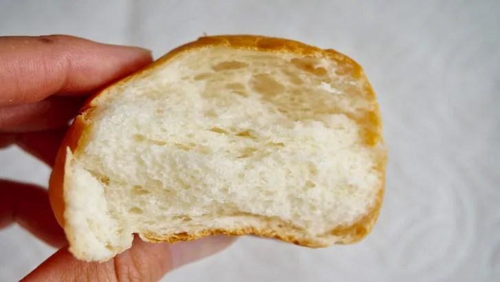コストコのディナーロール(パンの柔らかさ)