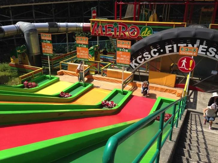 関西サイクルスポーツセンターの遊具施設
