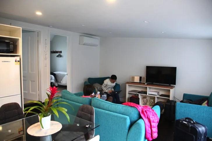 Airbnbで滞在した場所